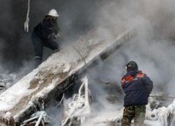 В Новосибирске обрушилось здание недостроенного торгового центра