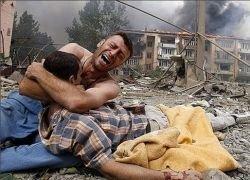 Война на Кавказе поделила Украину