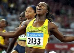 Ямайкские атлетки взяли две медали на 200 метров