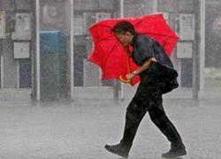 """Тайфун \""""Нури\"""" парализовал Гонконг"""