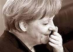 Кондолиза Райс дает урок истории Ангеле Меркель