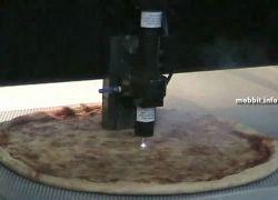 Необычный способ разрезать пиццу