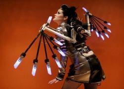 Кибер-ангел от дизайнера John Paul Rishea