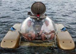 Личная субмарина для скучающих миллионеров