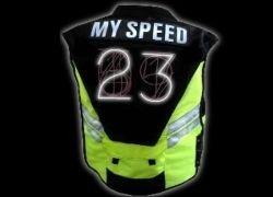 Speed Vest - гаджет, который покажет другим вашу скорость движения