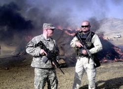 МВД Афганистана: американцы убили 91 человека