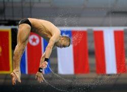 Россиянин Глеб Гальперин выиграл бронзу в прыжках с вышки