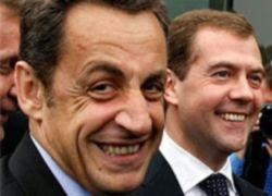 Медведев и Саркози не смогли договориться о перспективах их миссии