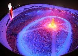 Как провожали Олимпийские игры?
