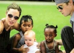 Франция будет платить пособие многодетной семье Джоли и Питта