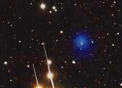 Астрономы нашли гигантское скопление галактик
