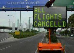 Во всех крупных аэропортах США задержаны рейсы
