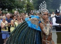 Карнавал карибской культуры в Ноттинг-Хилле