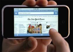 iPhone не обеспечивает обещанного уровня доступа к интернету