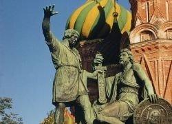 Памятник Минину и Пожарскому в Москве отреставрируют