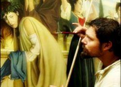В Италии пишут фрески с использованием техники 700-летней давности