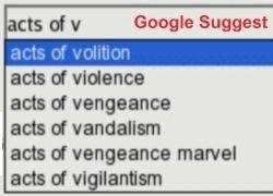 Google Suggest вышел из лаборатории