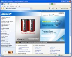 Microsoft выпуcтила Internet Explorer 8 beta 2