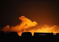 Из-за пожара на украинском военном складе эвакуировали 18 тыс. человек