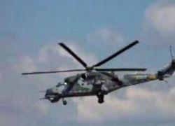 Вертолет, летающий с неподвижным винтом