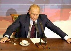 "Владимир Путин: Россия не намерена цепляться за место в \""восьмерке\"""