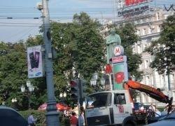 Количество наружной рекламы на территории города сократится на треть