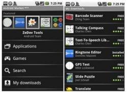 Google открывает магазин приложений для платформы Android