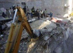 В Египте произошло обрушение многоэтажки