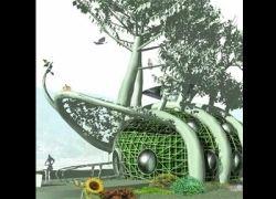 Дома начнут выращивать из корней деревьев