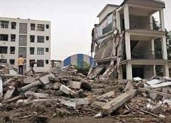 В Китае произошло второе за день землетрясение