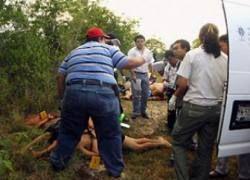 В Мексике найдено 12 обезглавленных трупов
