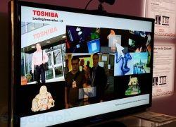 Toshiba представила систему жестового управления для телевизоров