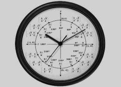Настенные тригонометрические часы