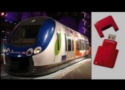 На французской железной дороге вместо билетов будут USB-носители