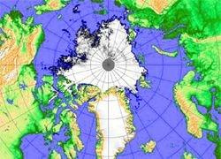 Арктика превращается в остров?