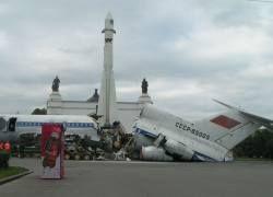 Ракету Гагарина на ВВЦ тоже сломают?