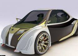 Новый концепт от Nissan: автомобиль-бабочка