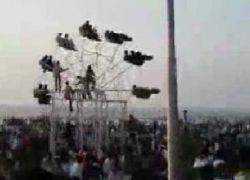 Ручное колесо обозрения в Индии