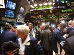 Индекс Dow Jones упал ниже 8500 пунктов