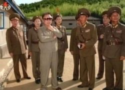 Северокорейское телевидение показало фотографии Ким Чен Ира