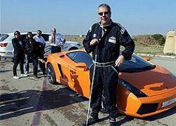 Слепой бельгиец установил рекорд скорости