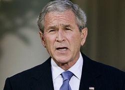 Буш признал вину США перед миром