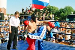 Россия одержала победу над сборной мира на чемпионате по кикбоксингу
