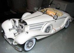 В Москве открылась выставка уникальных старинных автомобилей