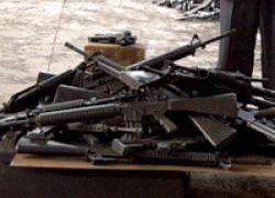 В Рязани изъята крупная партия оружия