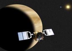 Венерианский спутник ищет жизнь на Земле