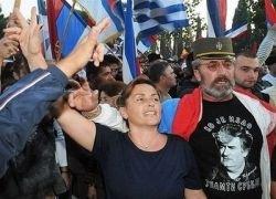 Беспорядки в столице Черногория из-за признания Косова