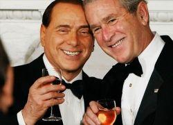 Сильвио Берлускони гостит у Джорджа Буша