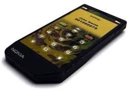 Nokia закачала воду в сенсорный экран