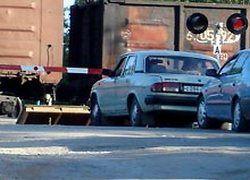 Железную дорогу оградят от водителей специальными барьерами